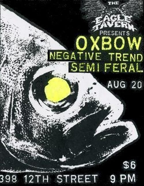 Oxbow Live At The Eagle Tavern (Holy Grail From Hell)