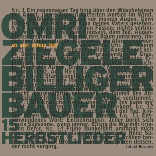 Omri Ziegele Billiger Bauer – So Viel Schon Hin. 15 Herbstlieder (Holy Grail From Hell)